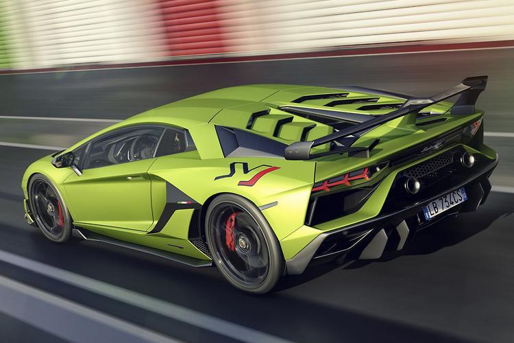 Lamborghini Aventador SVJ Tops $1 Million