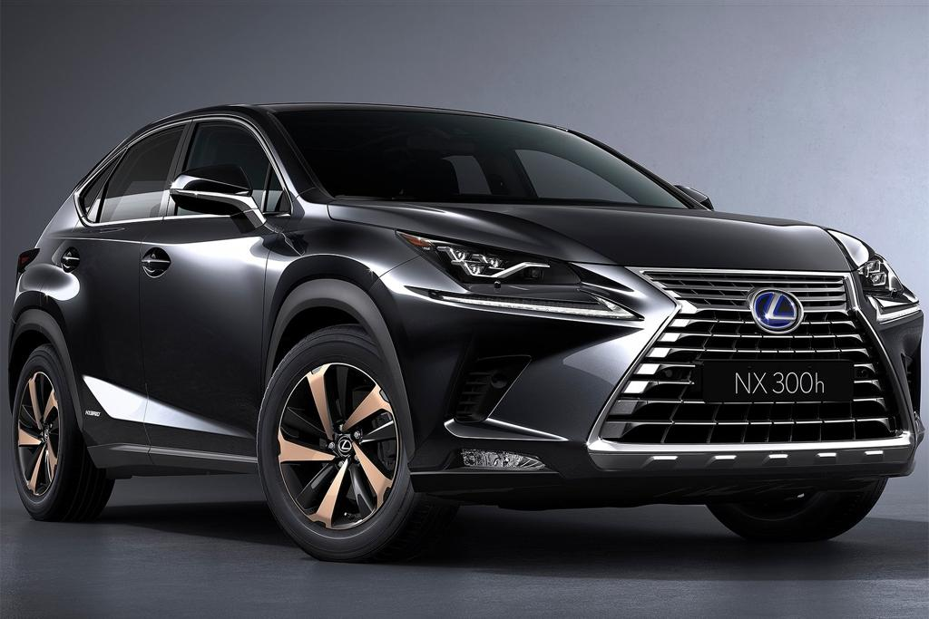 2018 lexus nx emerges. Black Bedroom Furniture Sets. Home Design Ideas