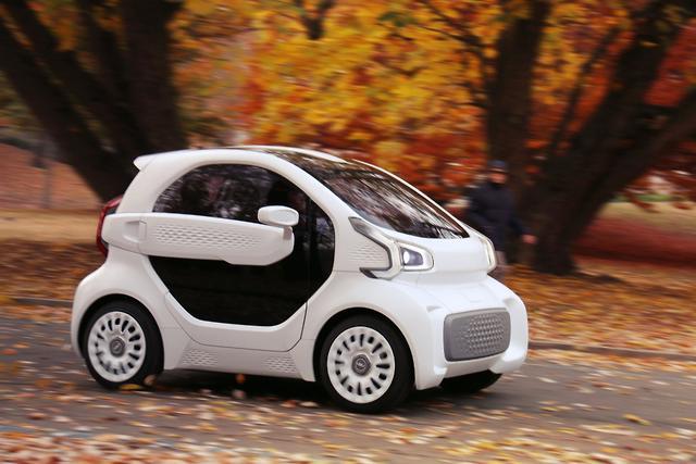Pioneering 3D printed car on sale next year - motoring com au