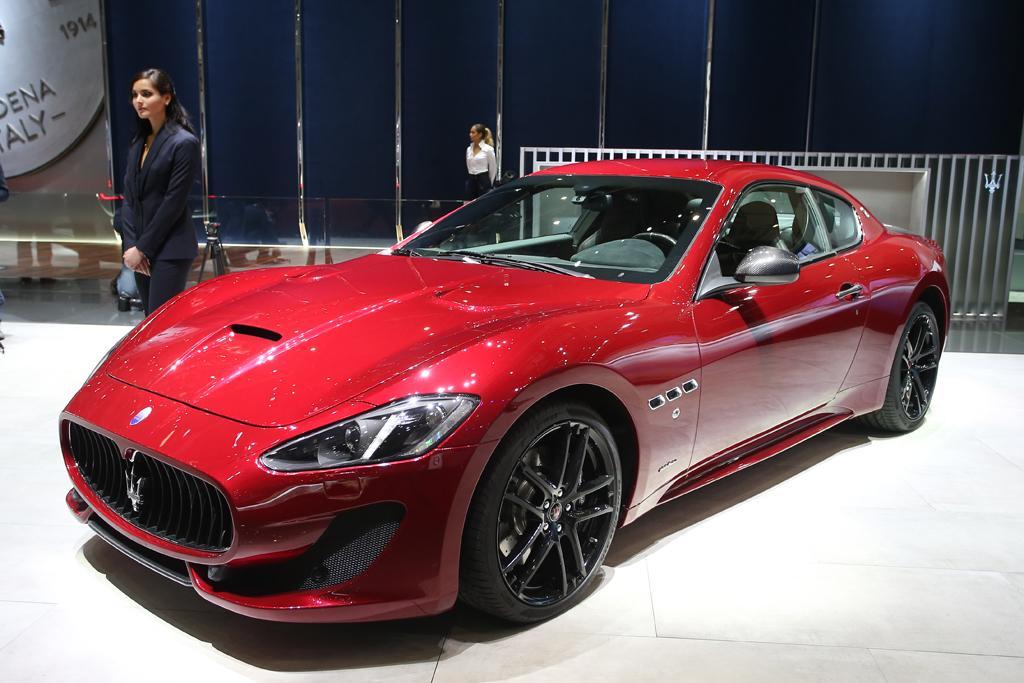 Geneva Motor Show Maserati Granturismo Special Edition