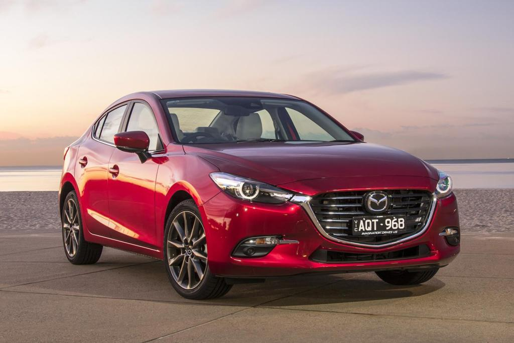 Mazda3 entry price lowered - motoring com au