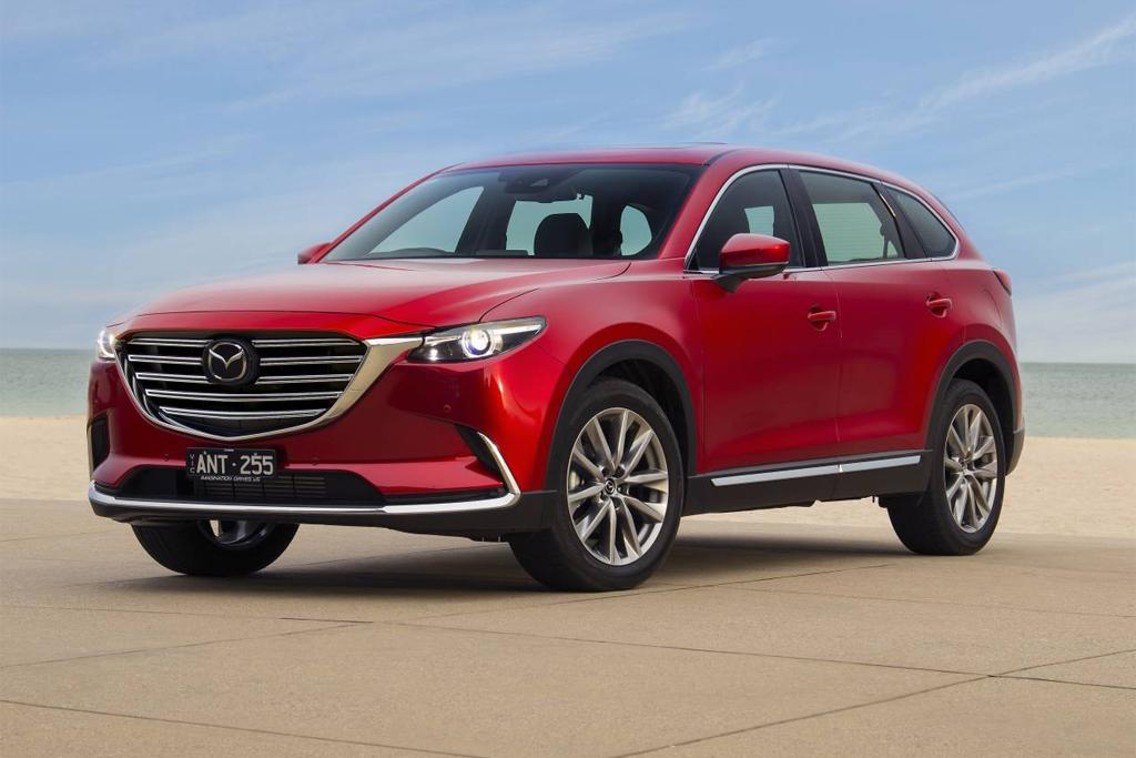 mazda cx 9 updated for an extra 1400. Black Bedroom Furniture Sets. Home Design Ideas