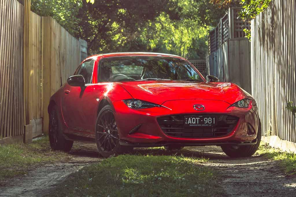 Mazda Mzd Connect Apple Carplay >> Mazda MX-5 RF Limited Edition 2018 Review - motoring.com.au