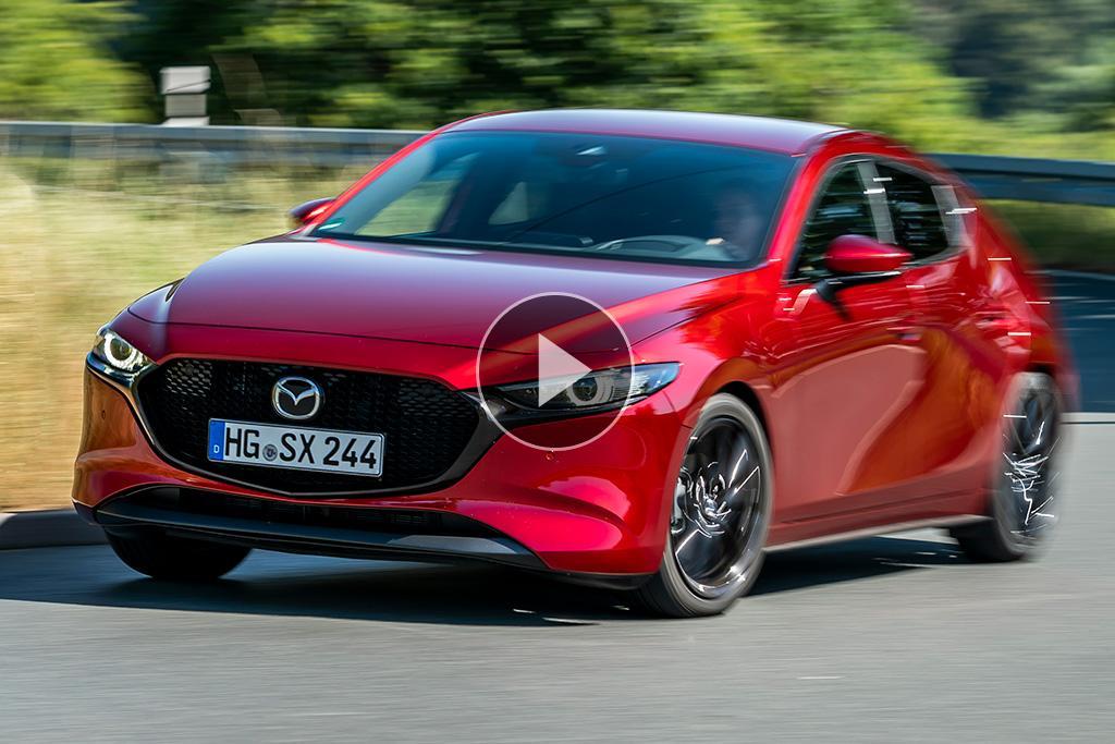 Mazda3 SKYACTIV-X 2019 Video Review