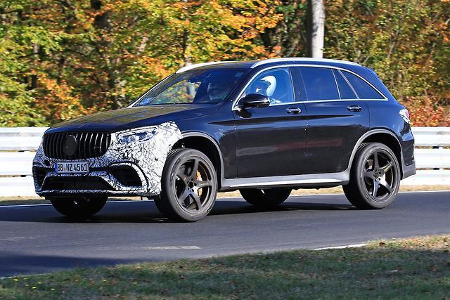 SPY PICS: Mercedes-Benz GLC updated - motoring com au