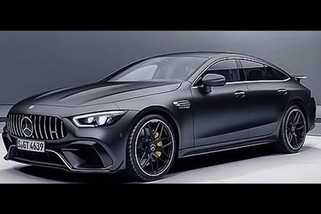 mercedes amg gt sedan leaked motoringcomau