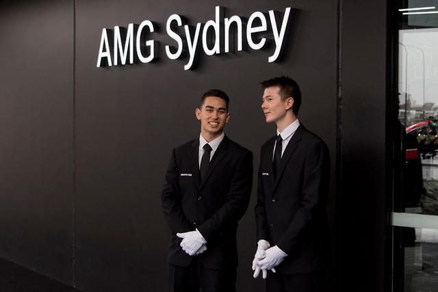 New Mercedes Store Melbourne Cbd