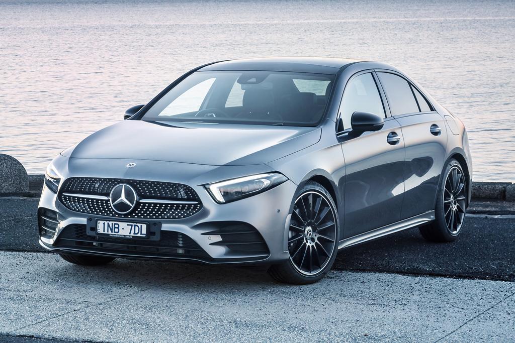 Mercedes Benz A Class Sedan Leads Reinvigorated Model Rollout