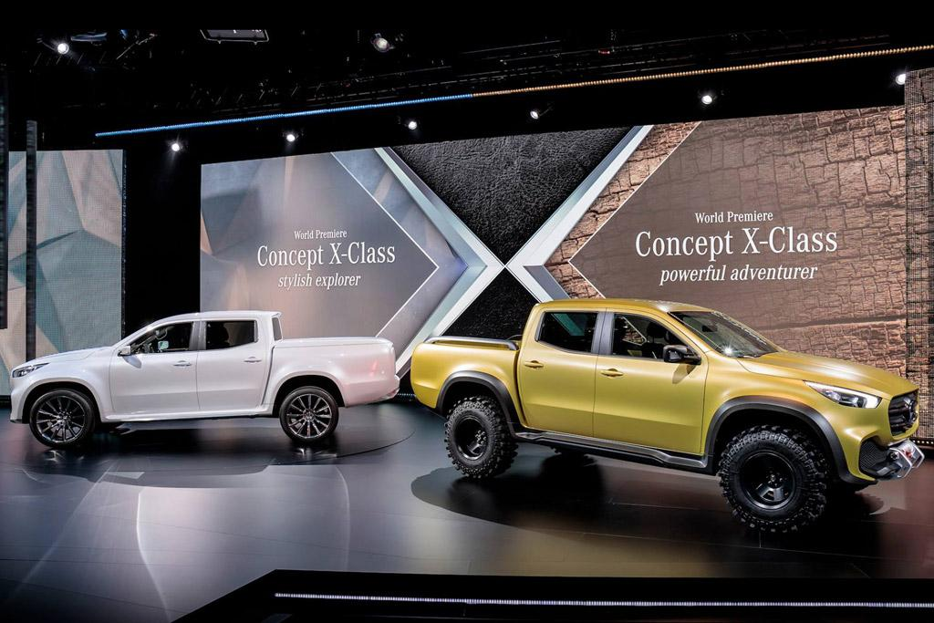 2018 mercedes benz vans x class ute. contemporary benz electric mercedes xclass ute unlikely with 2018 mercedes benz vans x class z