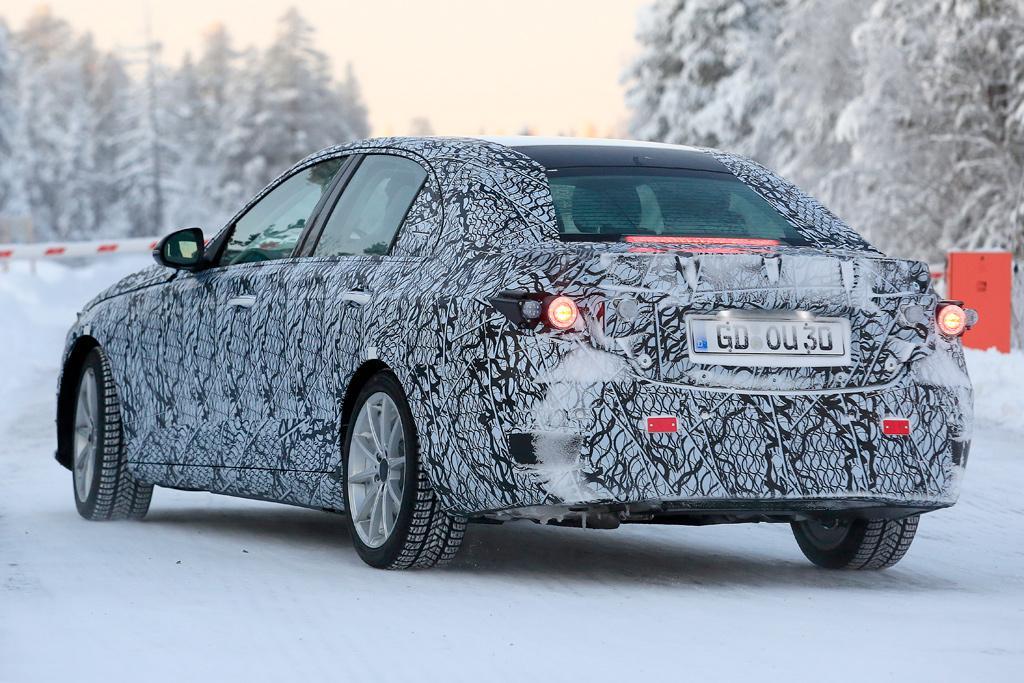 Spy Pics Next Gen Mercedes C Class Spotted Motoring Com Au