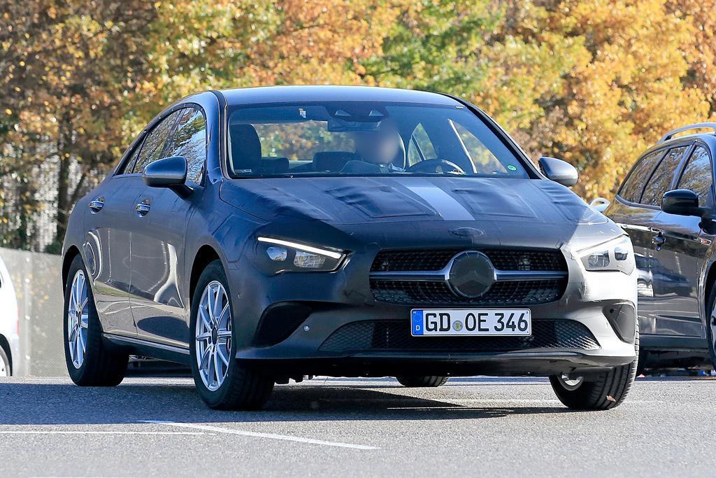 Spy Pics Next Mercedes Benz Cla Spotted Testing Motoring Com Au