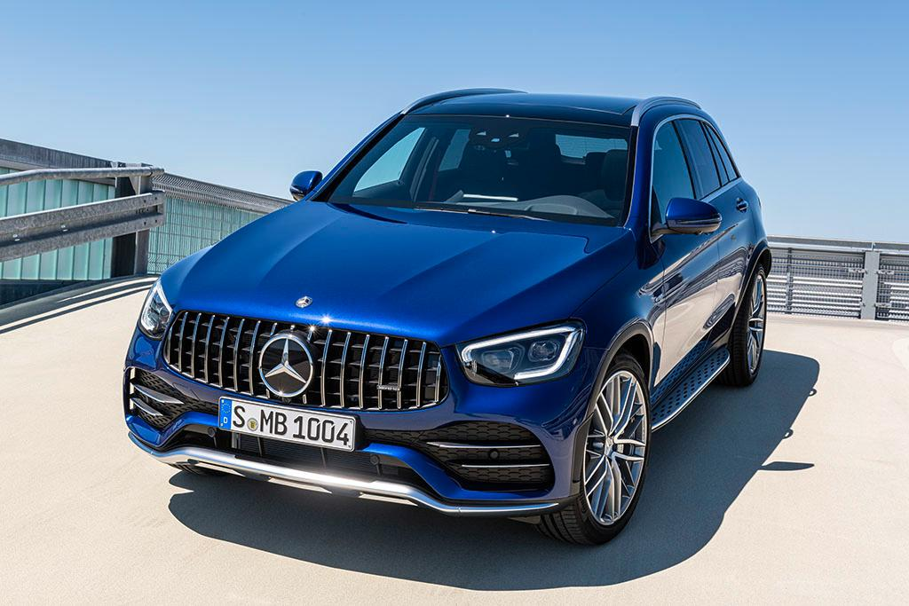 2020 Mercedes – Benz GLC Full Review >> 2020 Mercedes Amg Glc 43 And Glc 43 Coupe Revealed