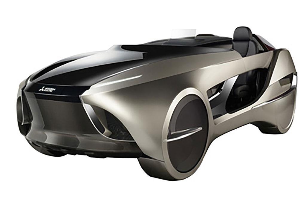 Tokyo Motor Show Mitsubishi Emirai 4 Roadster Concept
