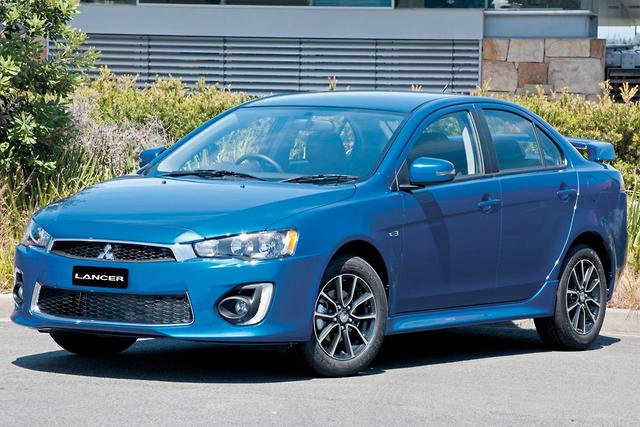 2017 Mitsubishi Lancer Busts Out Motoring Com Au Es Sport Review Carsguide