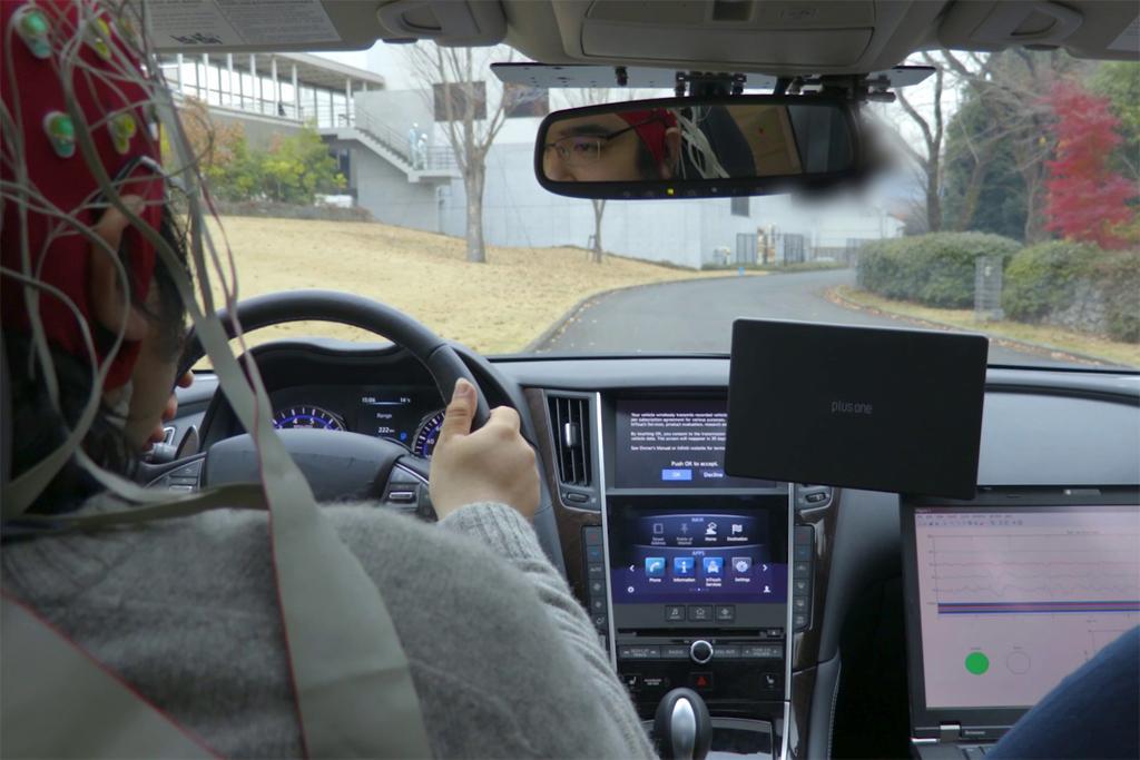 Ces 2018 Nissan Plotting Mind Controlled Car
