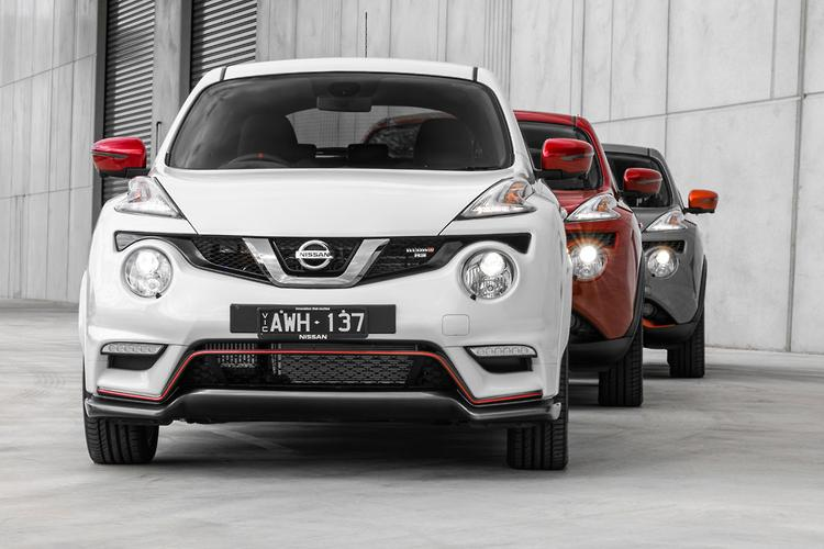 Nissan juke nismo australia
