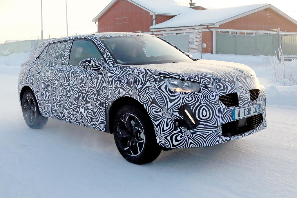 Spy Pics New Peugeot 2008 On The Way Motoring Com Au