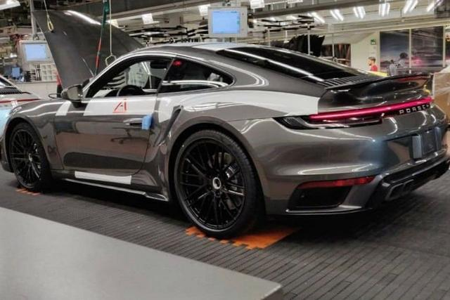 2020 Porsche 911 Turbo Spotted At Factory Motoring Com Au