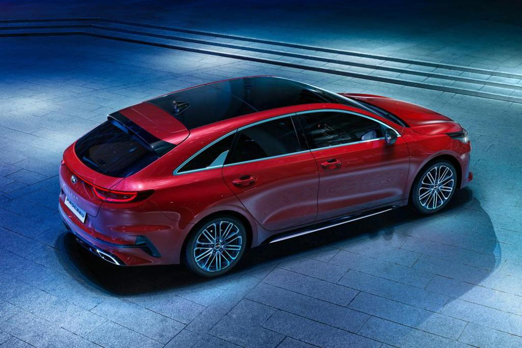 new kia proceed shooting brake revealed. Black Bedroom Furniture Sets. Home Design Ideas