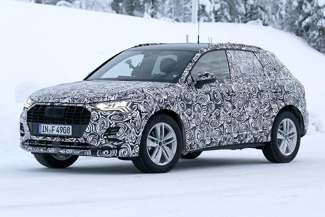 SPY PICS Nextgen Audi Q Out In The Open Motoringcomau - Q3 audi