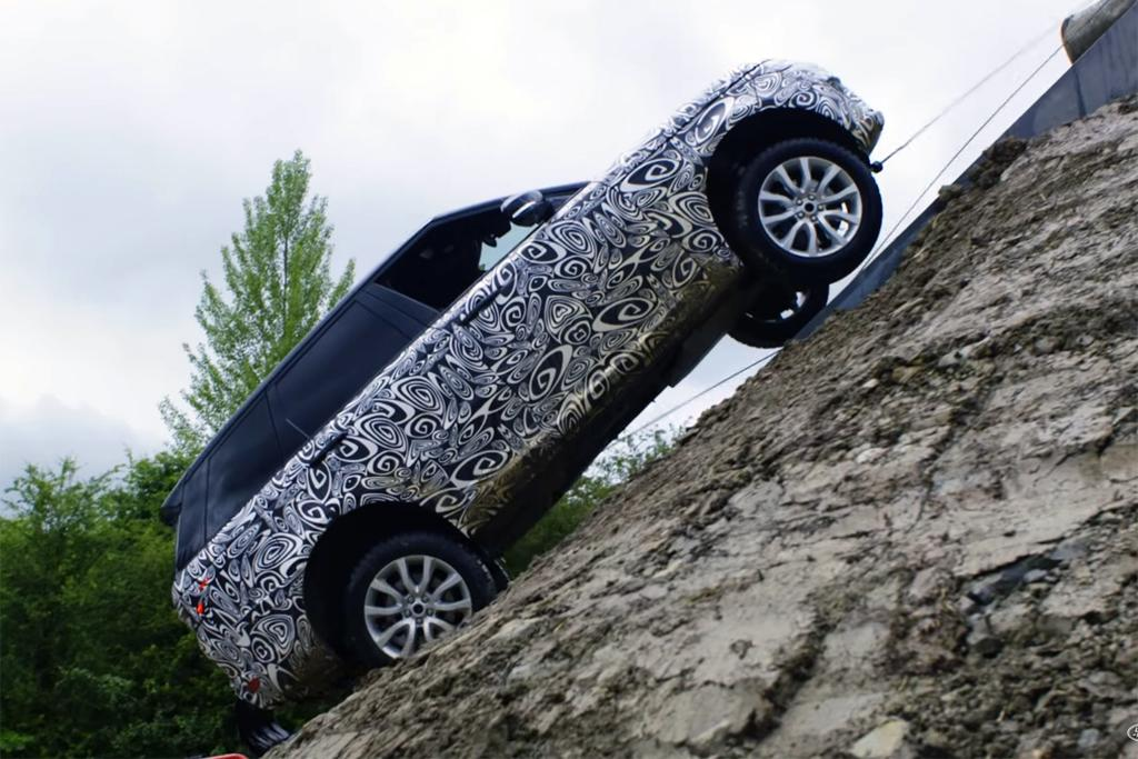 Range Rover's wild Chinese stunt – how did it get down