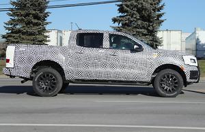 SPY PICS 2018 Ford Ranger