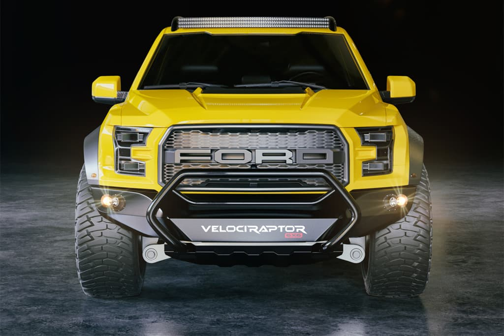 2018 ford raptor 6x6.  raptor the hennessey velociraptor ford f150 66 gets new front and rear body work on 2018 ford raptor 6x6 i