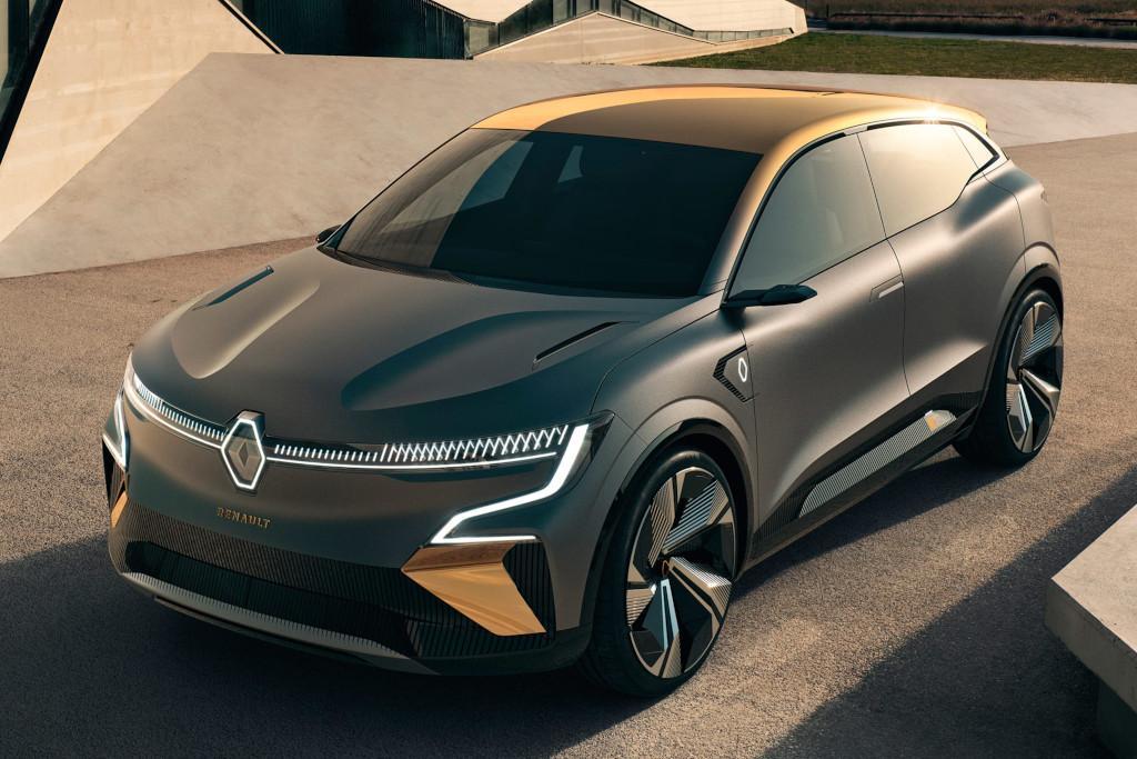 Renault Megane Evision Previews All New Electric Suv Motoring Com Au