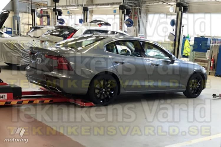 No diesel for new Volvo S60 saloon