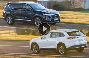 Hyundai Santa Fe 2018: Video Review - motoring com au
