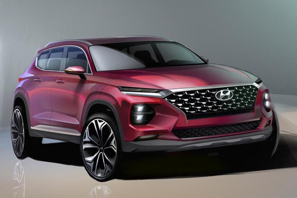 Hyundai Releases 2018 Santa Fe Sketches