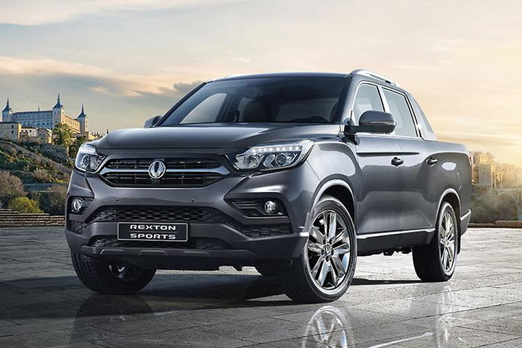 2018 ssangyong rexton sports ute revealed. Black Bedroom Furniture Sets. Home Design Ideas