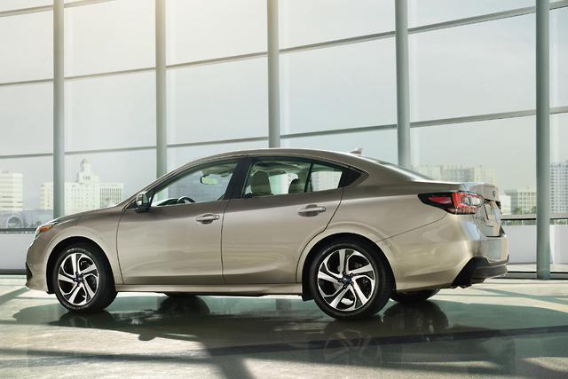 All-new Subaru Liberty makes debut - motoring com au
