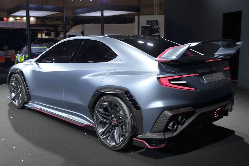 Subaru unveils 2019 WRX STI - maybe - motoring.com.au