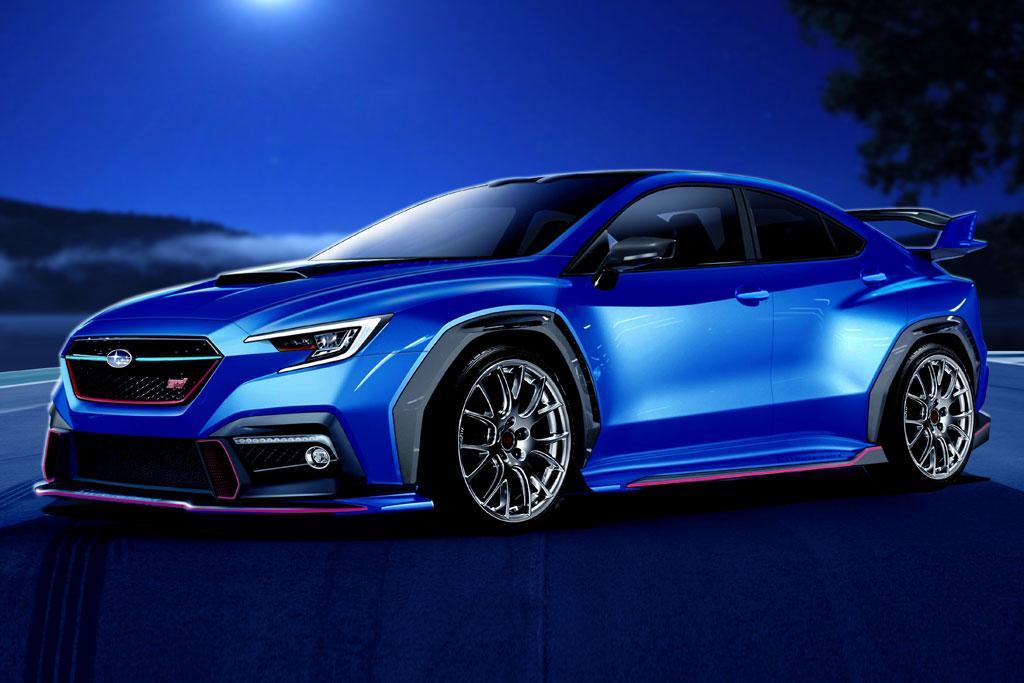 2020 Subaru WRX STI takes shape - motoring.com.au