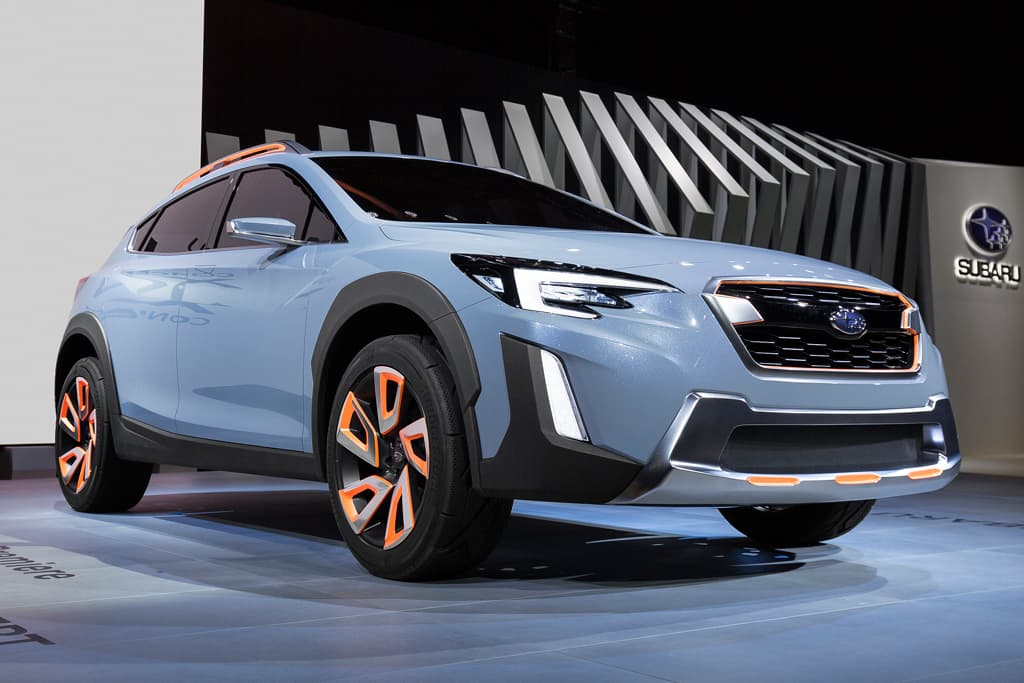 Geneva Motor Show Subaru Xv Concept Premieres Motoring