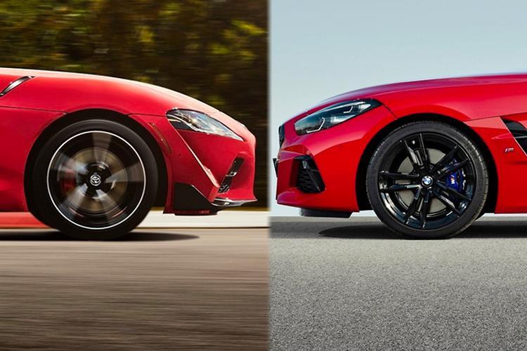 Toyota Supra V Bmw Z4 2019 Comparison Motoring Com Au
