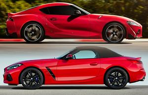 Toyota Supra V Bmw Z4 2019 Comparison