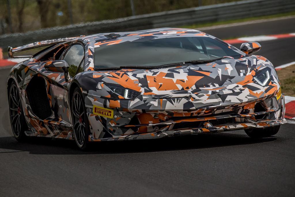 Lamborghini Aventador Svj Fastest Around Nurburgring