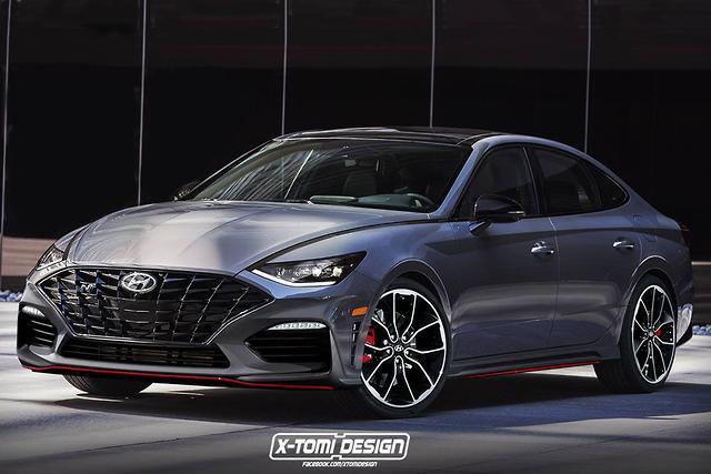 Hyundai Sonata N Imagined Motoring Com Au