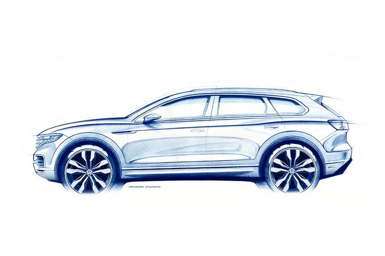 New Volkswagen Touareg makes Beijing debut March 23
