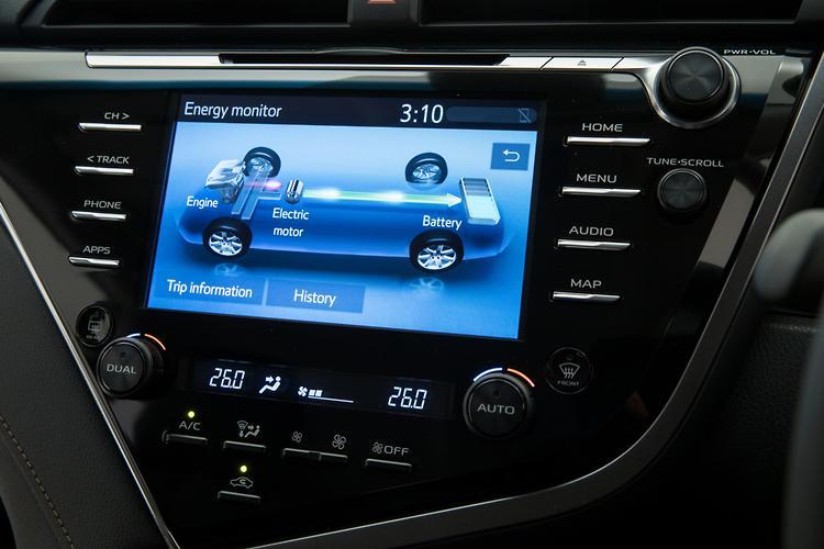 Toyota Camry Hybrid 2019 Review - motoring com au