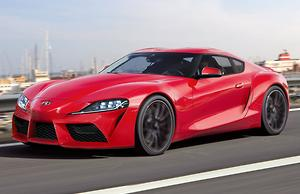 New Toyota Supra Exposed