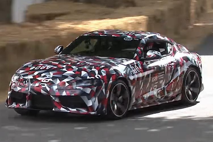 2019 Toyota Supra Makes World Debut Motoring Com Au