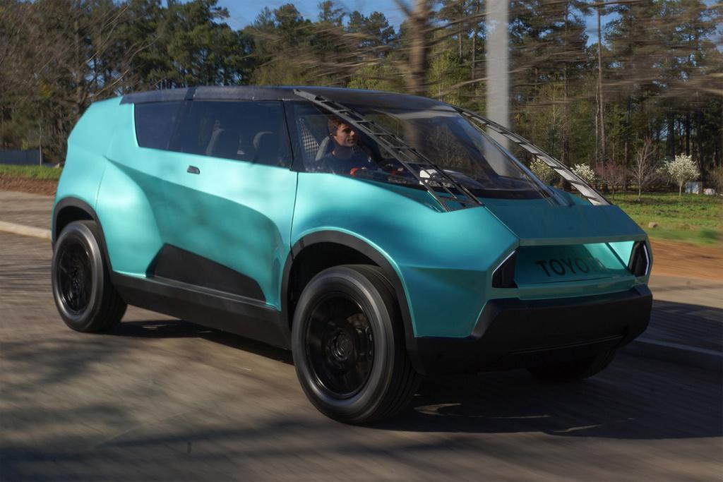 Toyota Ubox Concept Car Revealed