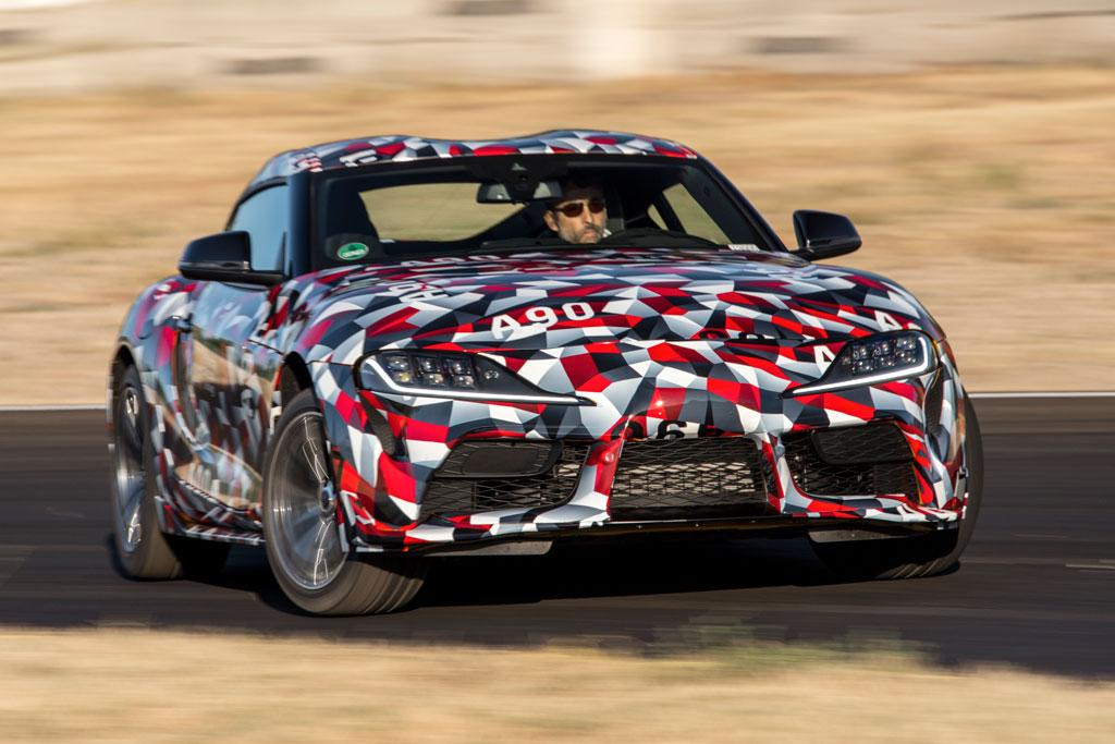 Toyota Supra 2019 Review Prototype Drive Motoring Com Au