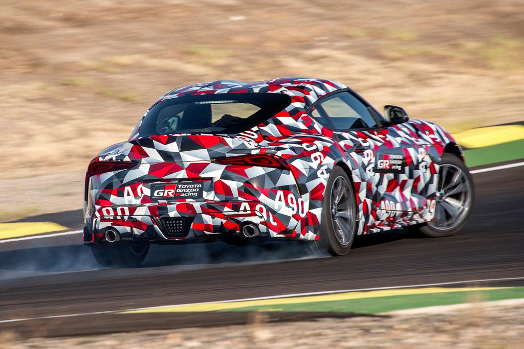 580dd7674f3e First A90 Toyota Supra to be auctioned - motoring.com.au