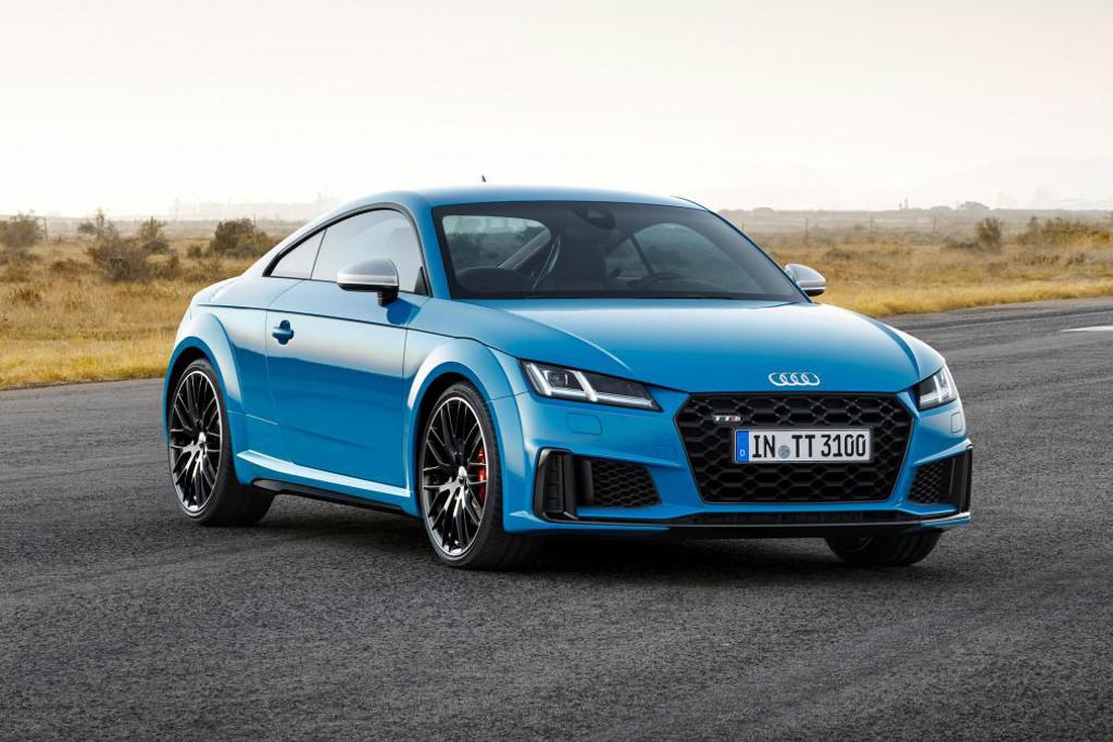 Audi Freshens Up TT Coupe And Roadster For Motoringcomau - Audi tt coupe