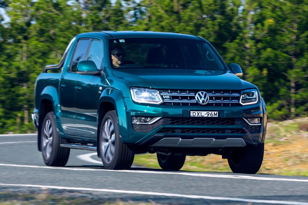 200kW Volkswagen Amarok Ultimate 580 arrives - motoring com au