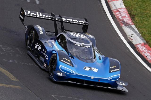 Volkswagen I D  R preps for Nurburgring record - motoring com au